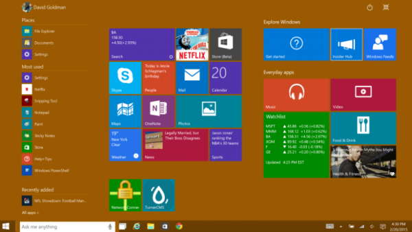 windows 10 tech preview beta multi windows 2015