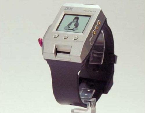2001 ibm watchpad first smartwatch 2015 images