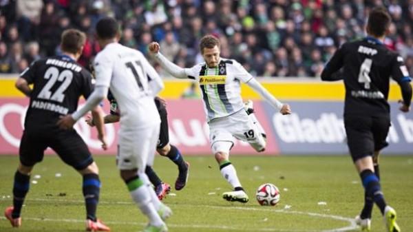 Borussia Monchengladbach wins over paderborn soccer 2015Borussia Monchengladbach wins over paderborn soccer 2015