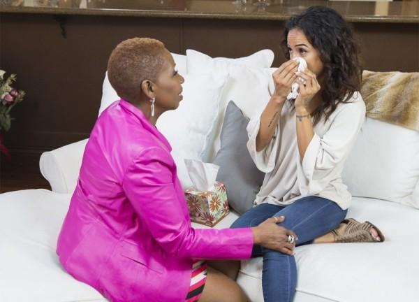 Karrueche tran kicks iyanla out of her house oprah 2015 gossip