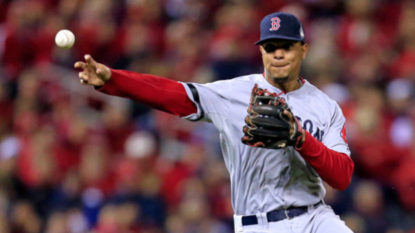 xander bogaerts top shortstop for red sox 2015
