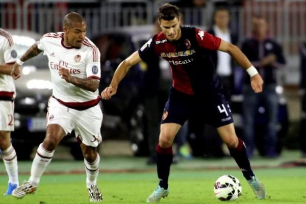 ac milan beats cagliari serie a soccer 2015