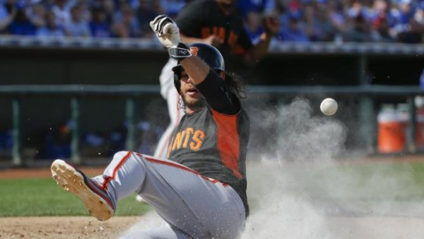 brandon belt butt use for giants 2015