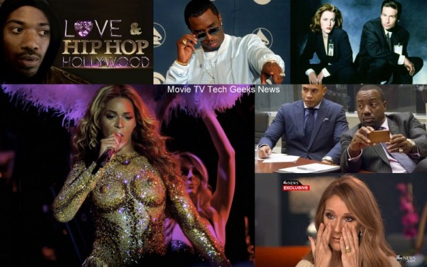 celebrity gossip beyonce diddy sway and x files returns 2015