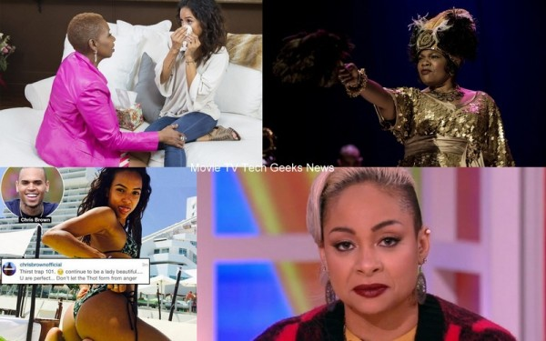 celebrity gossip roundup monique chris brown with michelle obama 2015 images