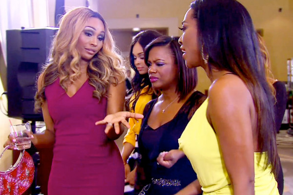 cynthia kendra and kandi at peters award show real housewives of atlanta 2015