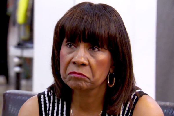 evil mama joyce mean to kandi on real housewives of atlanta 2015