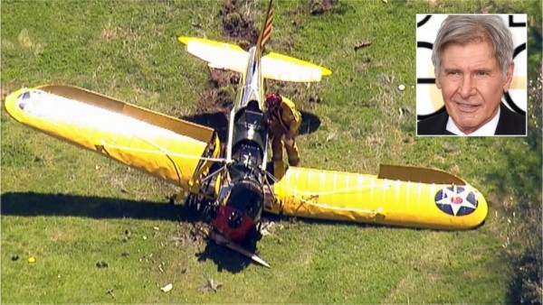 harrison ford plane crash landing 2015