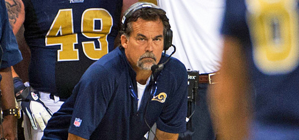 jeff fisher head coach for nfl st louis rams 2015