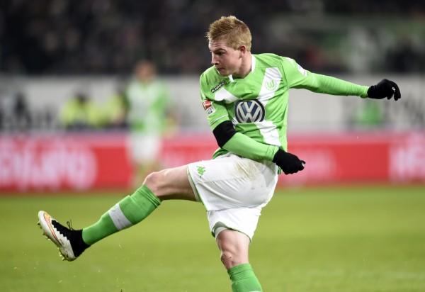 kevin de bruyne wins goal for wolfsburg soccer 2015