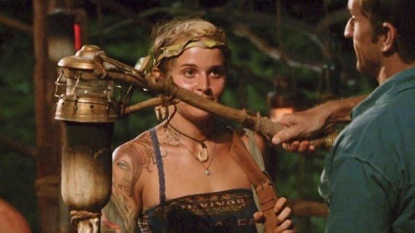 lindsay voted of survivor worlds apart with jeff probst 2015