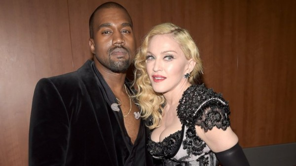 madonna showing kanye west love for music 2015 gossip