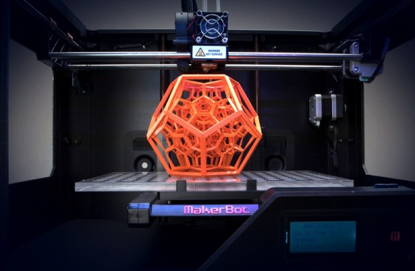 markerbot 3d printer top of the line 2015
