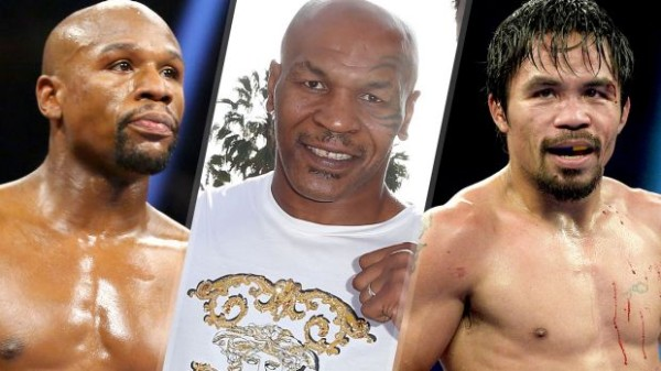 mike tyson not betting on pacquiao mayweather fight 2015