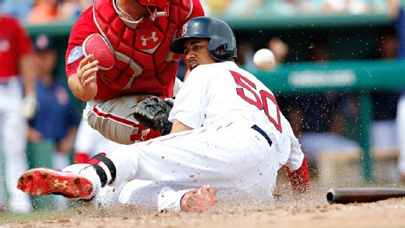mookie betts bottoms out for boston red sox win mlb 201