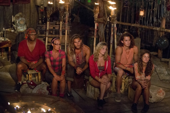 no collar tribe at council on survivor worlds vince apart 2015 ep 2