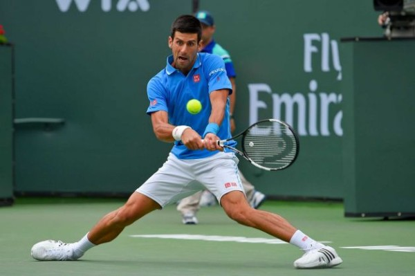 novak djokovic beats off roger federer for title indian wells 2015