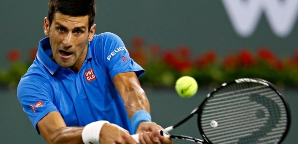 novak djokovic bumpbed from miami open 2015 images
