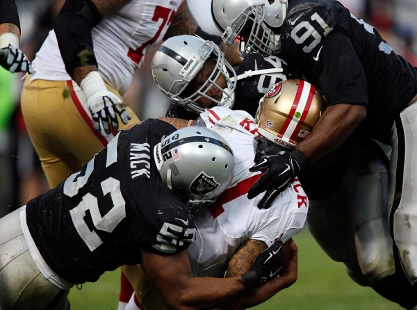 oakland raiders beat down 49ers nfl 2015