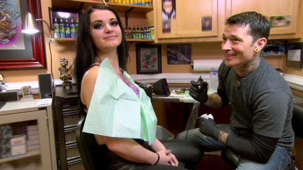 paige wants new tattoo against wwe total divas 2015