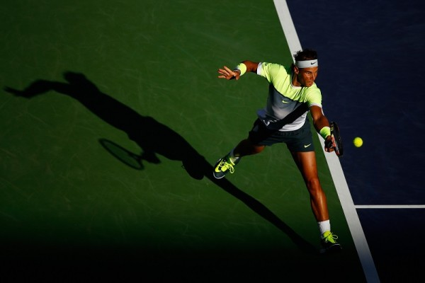 rafael nadal top for igor sijsling indian wells tennis 2015