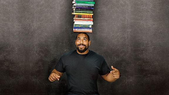 ravens john urschel works all his muscles on and off field 2015
