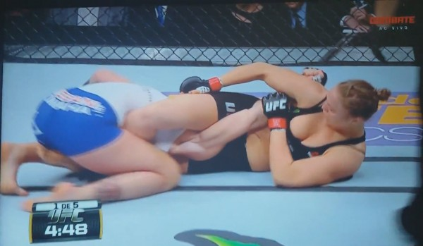 ronda rousey ufc 184 takes out cat zingano in seconds 2015