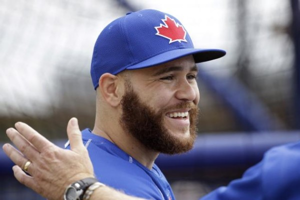 russell martin toronto blue jays hitting great 2015