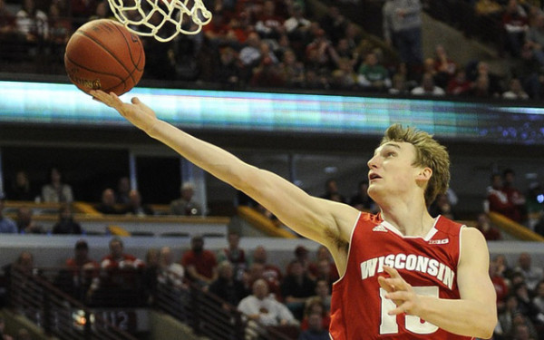 sam dekker university of wisconsin unheralded basketball player 2015