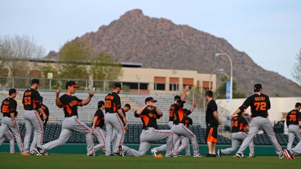 san francisco giants at bottom of cactus league 20154