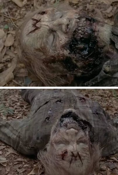 walkers marked with w again in walking dead forget 2015