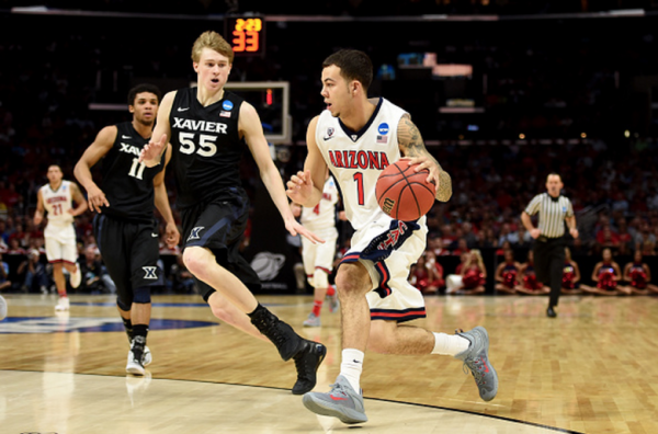 wisconsin vs arizona final four march madness 2015