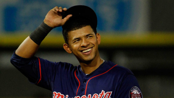 Eduardo Escobar hot pitcher for twins mlb 2015