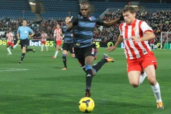almerica beats off granada la liga 2015