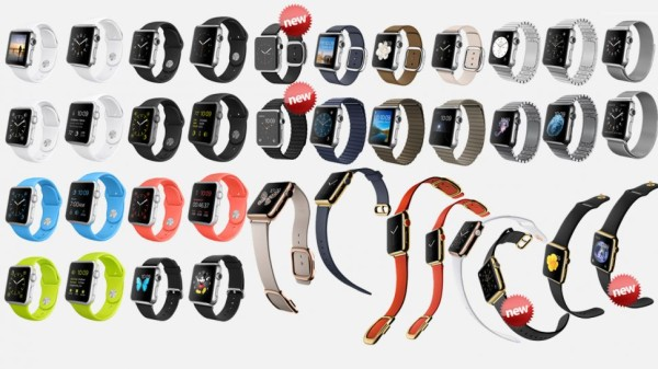apple watch full designs and colors 2015