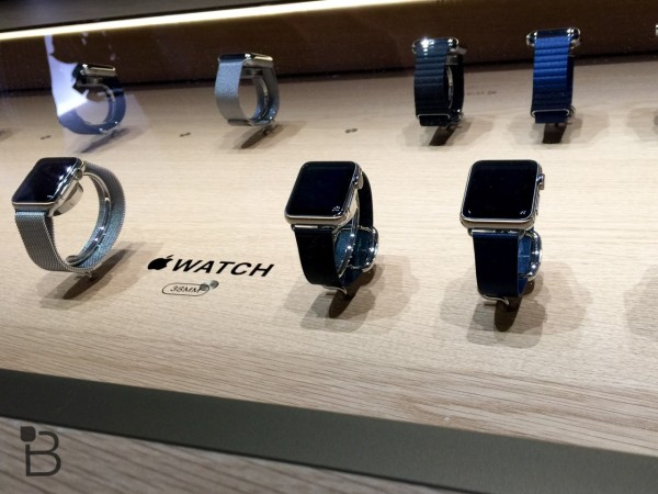apple watch launch day with no lines 2015