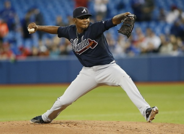 atlanta braves julio teheran top man winner week 1 nl mlb baseball 2015