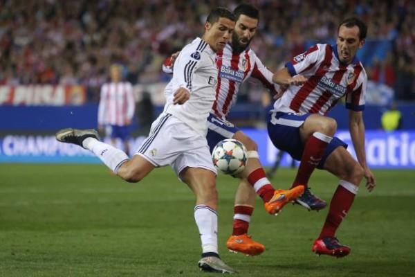 atletico madrid cristiano ronaldo bulges for real madrid la liga 2015