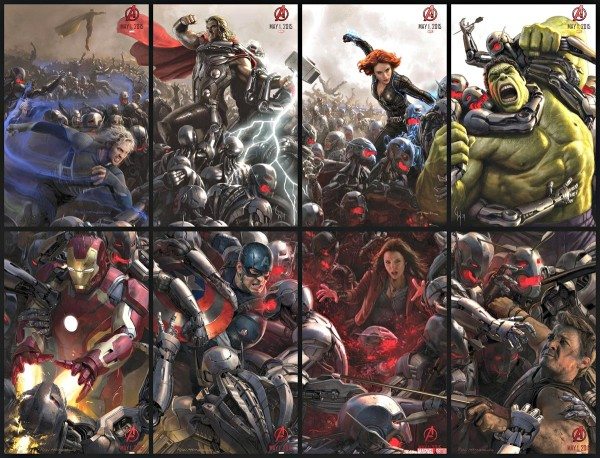 avengers age of ultron posters 2015