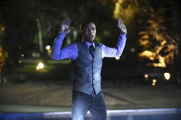 black guy hands up bulge for csi cyber 2015 images
