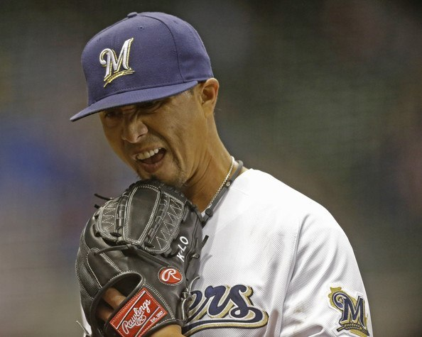 brewers kyle lohse bottoms out week 1 losers nl mlb baseball 2015