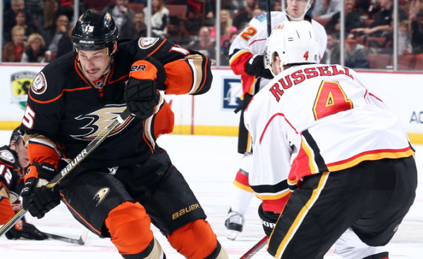 calgary flames take on anaheim ducks 2015 stanley cup playoffs