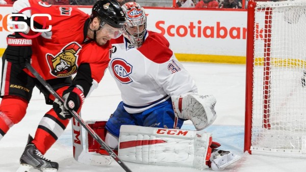 carey price saves goals for canadiens vs senators 2015 stanley cup playoffs