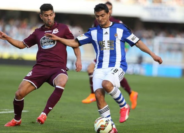 chory castro power ball for real soidad la liga 2015