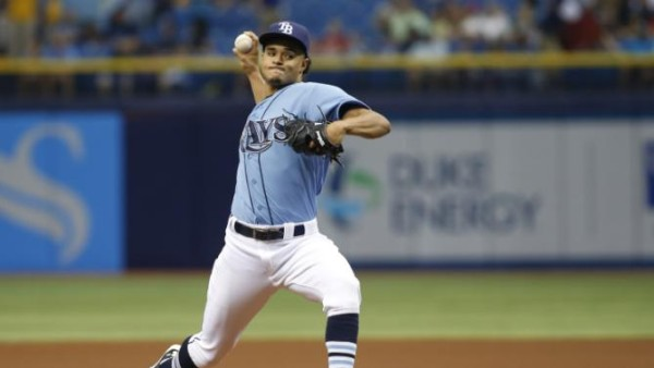 chris archer top man for bays bulge american league mlb 2015