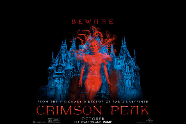 crimson peak movie poster 2015