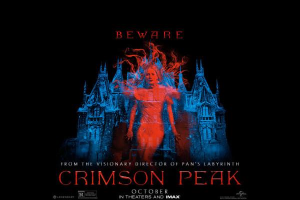 crimson peak movie poster 2015