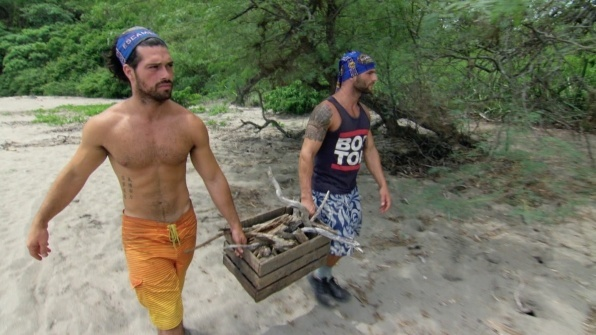 gay brothers joaquin souberbielle with rodney lavoie on survivor worlds apart 3005 2015