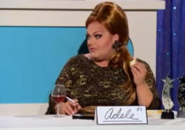 ginger ming does adele for snatch game rupauls drag race 2015
