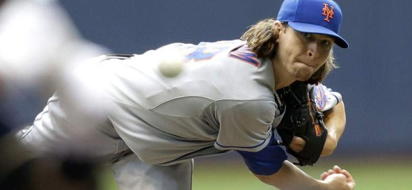jacob deGrom hottest pitcher of mlb baseball 2015